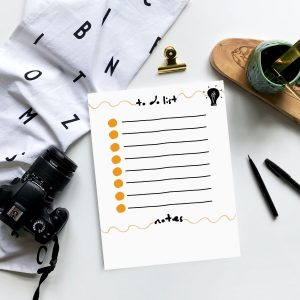 bohemian minimal to do list for ultimate productivity